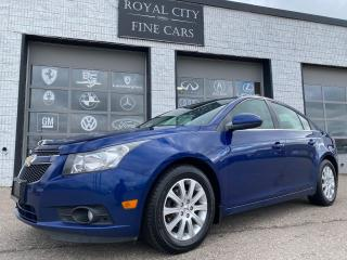 Used 2013 Chevrolet Cruze LT Turbo Accident-Free Remote Start Certified for sale in Guelph, ON