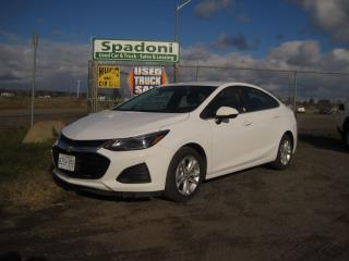 Used 2019 Chevrolet Cruze LT for sale in Thunder Bay, ON