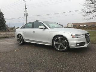 Used 2014 Audi A4 Progressiv|S-Line|Navigation|No Accidents for sale in Bolton, ON