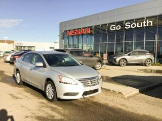 Used 2015 Nissan Sentra S, AUTO, BACK UP CAMERA for sale in Edmonton, AB