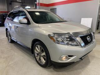 Used 2014 Nissan Pathfinder Platinum for sale in Red Deer, AB