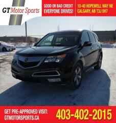 Used 2010 Acura MDX I AWD 7 PASSENGERS | $0 DOWN - EVERYONE APPROVED! for sale in Calgary, AB