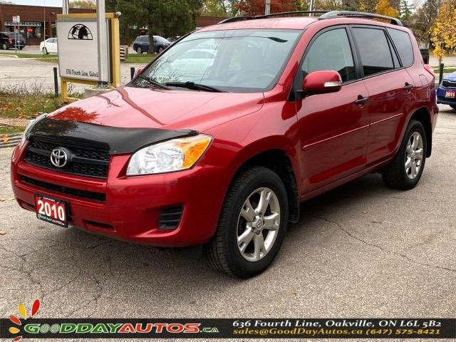 2010 Toyota RAV4 Base|NO ACCIDENT|4WD|SINGLE OWNER|CERTIFIED