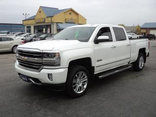Used 2017 Chevrolet Silverado 1500 High Country CrewCab 6.2L 4x4 6.5ft Box NavBackUpC for sale in Brantford, ON
