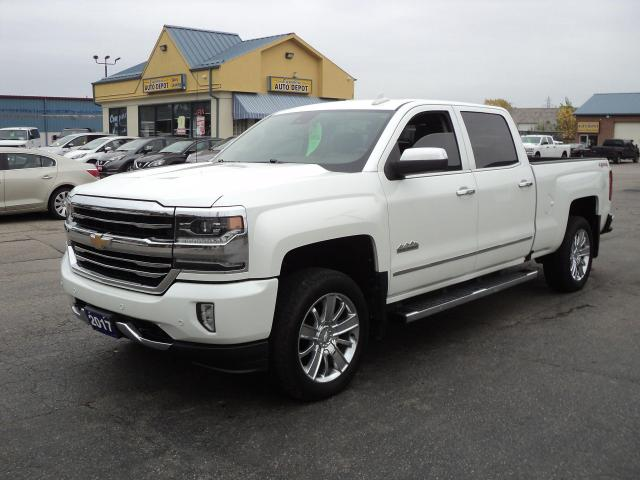 2017 Chevrolet Silverado 1500 High Country CrewCab 6.2L 4x4 6.5ft Box NavBackUpC