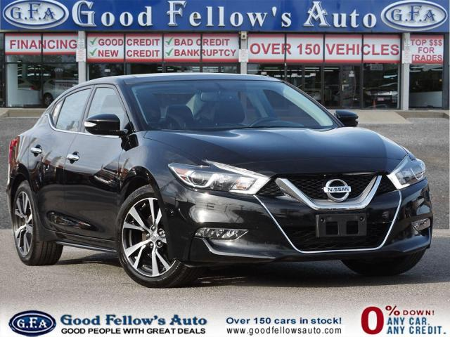 2016 Nissan Maxima SL MODEL, GLASS ROOF, NAVIGATION, LEATHER SEATS