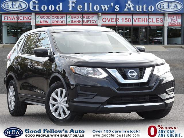2017 Nissan Rogue 2.5L S MODEL, PARKING ASSIST REAR, REARVIEW CAMERA