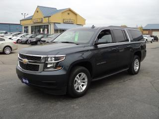 Used 2019 Chevrolet Suburban 1500 LS 5.3L 4x4 BackUpCam RemoteStart 8 Pass for sale in Brantford, ON