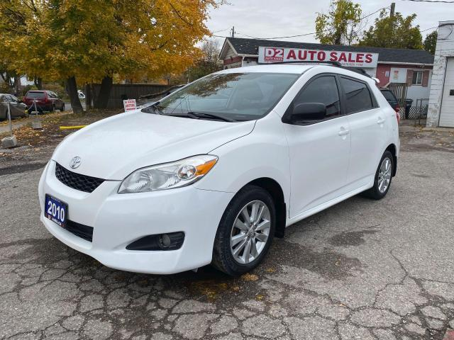 2010 Toyota Matrix Accident Free/Automatic/Power Options/Certified