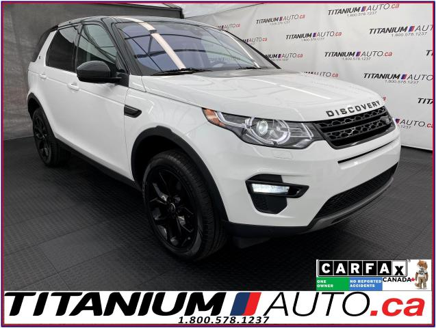 2017 Land Rover Discovery Sport HSE+GPS+Pano Roof+Blind Spot+Lane Assist+Camera