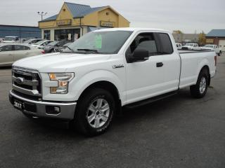Used 2017 Ford F-150 XLT SuperCab 5.0L 8ft Box BackUpCam for sale in Brantford, ON