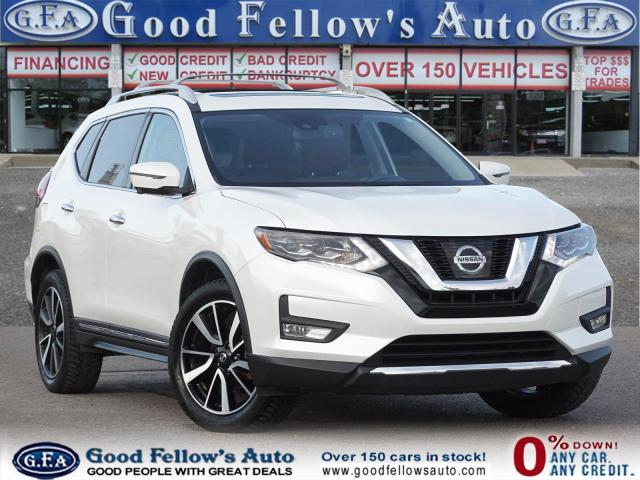 2017 Nissan Rogue SL MODEL, AWD, 360° CAMERA, BROWN LEATHER INTERIOR