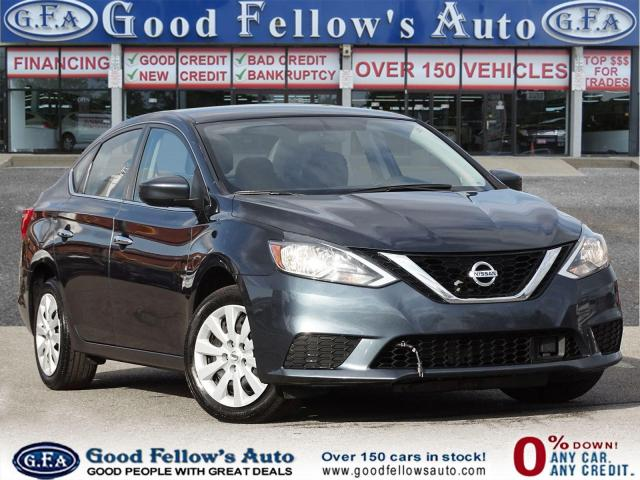 2018 Nissan Sentra SV MODEL, REARVIEW CAMERA, HEATED SEATS, 1.8L 4CYL
