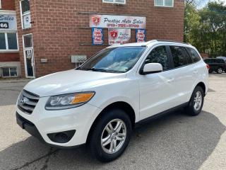 Used 2012 Hyundai Santa Fe GL/2.4L/6 SPEED/NO ACCIDENT/SAFETY+WARRANTY for sale in Cambridge, ON