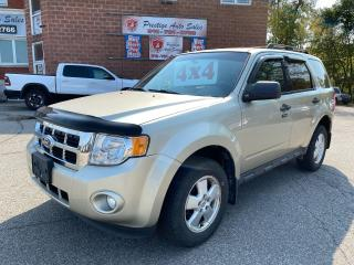 Used 2012 Ford Escape XLT/4WD/3L/ONE OWNER/NO ACCIDENT/SAFETY+WARRANTY for sale in Cambridge, ON
