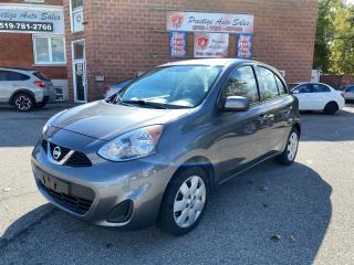 Used 2017 Nissan Micra SV/1.6L//ONE OWNER/NO ACCIDENT/SAFETY+WARRANTY INC for sale in Cambridge, ON