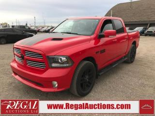 Used 2016 RAM 1500 Sport Crew Cab SWB 4WD 5.7L for sale in Calgary, AB