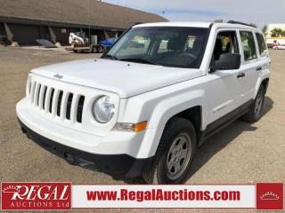 Used 2015 Jeep Patriot Sport 4D Utility 2WD 2.4L for sale in Calgary, AB
