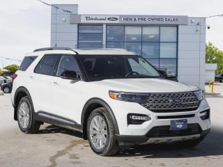 New 2021 Ford Explorer Limited 0.99% APR | NAV | ROOF for sale in Winnipeg, MB