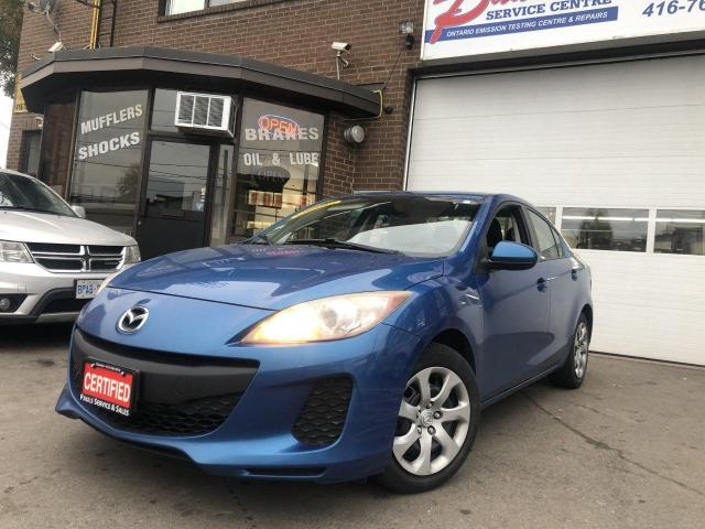 2012 Mazda MAZDA3 GX-AUTO-A/C-HEATED SEATS*CERTIFIED*