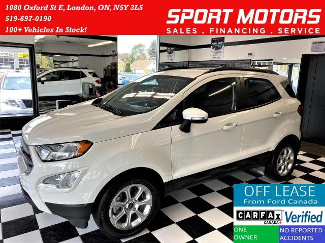 2018 Ford EcoSport SE+Apple Play+Heated Seats+Sunroof+ACCIDENT FREE