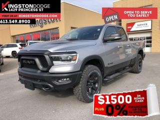 New 2021 RAM 1500 Rebel | Night Edition | Bed Utility Group | Remote for sale in Kingston, ON