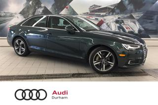 Used 2017 Audi A4 2.0L Technik + Lane Assist | Adapt Cruise | B & O for sale in Whitby, ON