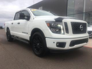 Used 2018 Nissan Titan SV Midnight Edition Crew Cab 4x4 for sale in Summerside, PE