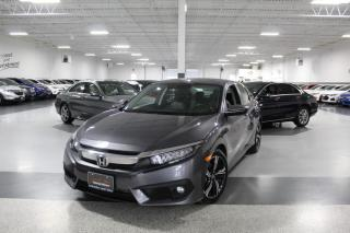 Used 2016 Honda Civic CVT TOURING I LEATHER I NAVIGATION I HEATED SEATS I SUNROOF for sale in Mississauga, ON