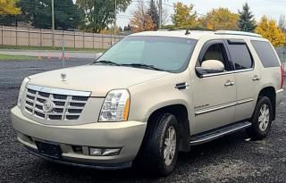 Used 2008 Cadillac Escalade FULLY LOADED AWD 4DR /1 YEAR WARRANTY INCLUDED for sale in Brampton, ON