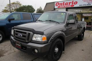Used 2010 Ford Ranger XLT 4WD SuperCab Tonneau cover 2 set tires for sale in Mississauga, ON