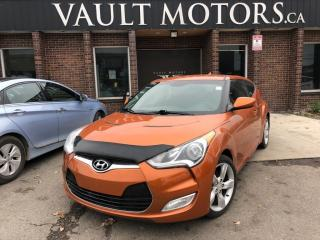 Used 2014 Hyundai Veloster 3dr Cpe,1 YEAR ENGINE/TRANSMISSION WARRANTY for sale in Brampton, ON