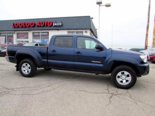 Used 2013 Toyota Tacoma Double Cab V6 4.0L 4WD SR5 AUTO CAMERA CERTIFIED for sale in Milton, ON