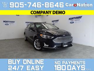 Used 2020 Ford Fusion Energi TITANIUM | PLUG IN HEV | LEATHER | ROOF | NAV for sale in Brantford, ON
