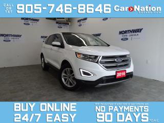 Used 2016 Ford Edge SEL   AWD   PANO ROOF   LEATHER   NAV   ONLY 62 KM for sale in Brantford, ON