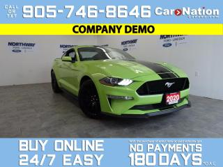Used 2020 Ford Mustang GT FASTBACK | PERFORMANCE PKG | 6 SPEED M/T for sale in Brantford, ON