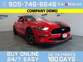 Used 2020 Ford Mustang GT PREMIUM | PERFORMANCE PKG LEVEL 2 |RECARO SEATS for sale in Brantford, ON