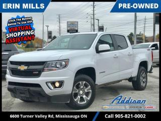 Used 2020 Chevrolet Colorado 4WD Z71  SLIDING REAR WINDOW|HEATED SEATS|LOW KM| for sale in Mississauga, ON
