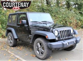 Used 2015 Jeep Wrangler Sport w/Only One Owner for sale in Courtenay, BC