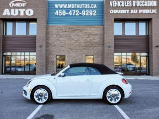 Used 2019 Volkswagen Beetle Convertible Édition Wolfsburg BA for sale in St-Eustache, QC