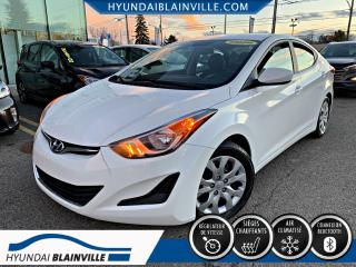 Used 2014 Hyundai Elantra GL DÉMAR DISTANCE, BLUETOOTH, BANCS CHAU for sale in Blainville, QC