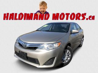 Used 2013 Toyota Camry LE 2WD for sale in Cayuga, ON