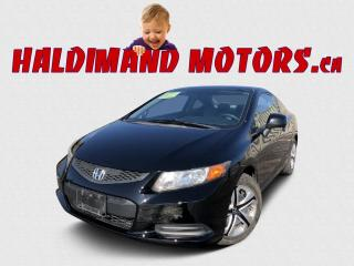 Used 2012 Honda Civic LX 2WD for sale in Cayuga, ON