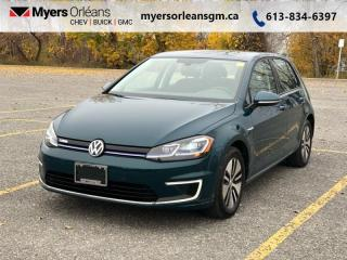 Used 2018 Volkswagen Golf e-Golf Comfortline 4-Door for sale in Orleans, ON