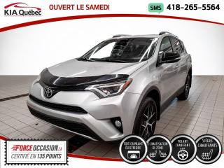 Used 2017 Toyota RAV4 SE* AWD* CUIR* GPS* TOIT* CAMERA* for sale in Québec, QC