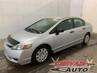 Used 2010 Honda Civic DX-A Mags A/C for sale in Shawinigan, QC