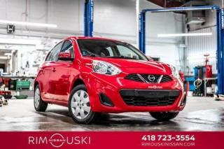 Used 2017 Nissan Micra 4DR HB SV for sale in Rimouski, QC