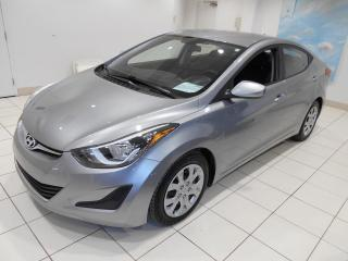 Used 2015 Hyundai Elantra GL ** BAS KM,BLUETOOTH,A/C,BAS KM. ** for sale in Montréal, QC