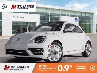 Used 2019 Volkswagen Beetle Wolfsburg Edition, Clean Carfax, Apple CarPlay, Backup Camera for sale in Winnipeg, MB