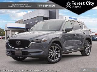New 2021 Mazda CX-5 Signature for sale in London, ON